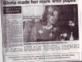Gloria Newspaper
